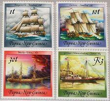 PAPUA NEUGUINEA NEW GUINEA 1988 580-83 ex 663-76 Sailing Ships Schiffe MNH