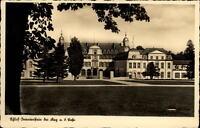 Schloß Oranienstein bei Diez Rheinland-Pfalz Postkarte ~1920/30 Partie am Schloß