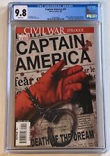 CAPTAIN AMERICA  #25 CGC 9.8 NM/MT (4/07) Marvel Comics  with White Pages