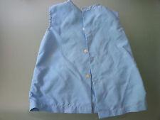 Chemise bleue protection vêtements enfant bricolage peinture motif Schtroumpf