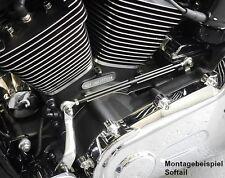Schaltstange / Schaltgestänge schwarz für Harley Dyna Fat Bob + Wide Glide