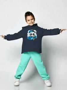 Cool Panda With A Car Hoodie Toddler's -Image by Shutterstock