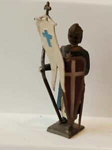 CBG MIGNOT Knight Crusader with Flag, lead, France