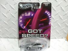 Hot Wheels Auto Affinity Got Speed? Silver Mercedes SL55 w/Real Riders