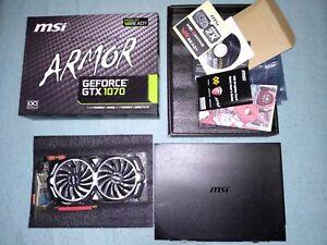 MSI Nvidia GeForce GTX 1070 Armor 8G OC