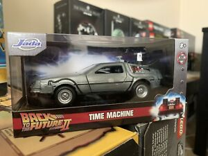 Back to the Future 2 Time Machine Metals DieCast Car 1:32 NEW