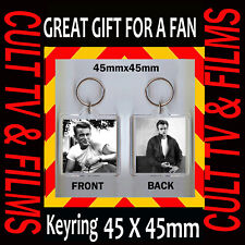 JAMES DEAN - CULT FILM-45X45mm KEYRING - GREAT GIFT FOR A FAN