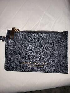 Marc New York Andrew Marc Gray Wallet Small Bag Purse Keychain Zipper Wristlet