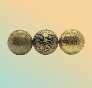 Tree of Life Door Knobs Vintage Charm 6x4cm Gold-Brass-Black Buy 2 for 10% Off