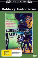 Peter Finch David McCallum ROBBERY UNDER ARMS - FAMOUS AUSTRALIAN WESTERN DVD