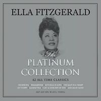 Ella Fitzgerald - Platinum Collection [New Vinyl LP] Colored Vinyl, White, UK -