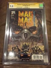 MAD MAX FURY ROAD NUX & IMMORTAN JOE #1 CGC 9.8 SIGNED TOMMY LEE EDWARDS (MOVIE)