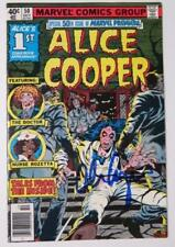 ALICE COOPER Signed Autograph Marvel Comic Book  1979 Marvel Premiere Issue #50