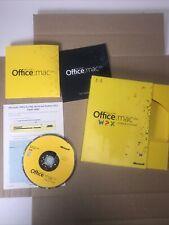 Microsoft Office MAC 2011 Home & Student 1 mac 1 user - No Returns