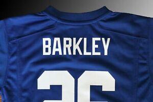 Nike New York Giants Saquon Barkley Royal Blue Game Jersey Boys (Kids) Sizes