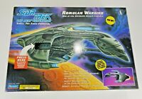 Star Trek The Next Generation ROMULAN WARBIRD Playmates Electronic Ship 1993 NIB