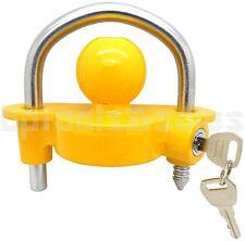 "Universal Trailer Ball Hitch Coupler Lock Ball Tongue Steel 1-7/8"" 2"" 2-5/16"""