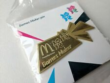 2012 London Olympics Gamesmaker Pin Gold