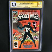 Marvel Super-Heroes Secret Wars #8 **SIGNED + SKETCH ZECK & BEATTY** CGC 9.2 SS