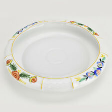 Art Deco Rosenthal Porcelain Centerpiece Bowl Dish Handpainted Vintage Modernist