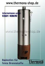 Badeofen Edelstahl Warmwasserzubereitung für mehrere Zapfstellen - 100 l Volumen