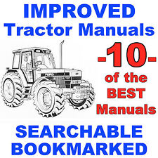 Ford New Holland 40 5640 6640 7740 7840 8240 8340 REPAIR SERVICE -10- Manuals CD