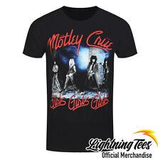 Official Motley Crue Smokey Street Rock Band T-Shirt