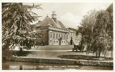 HIGH WYCOMBE BUCKINGHAMSHIRE UK THE TOWN HALL PHOTO POSTCARD 1930s
