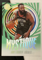 2019-20 Illusions # 1 JAMES HARDEN MYSTIQUE Emerald Green Acetate SSP- MINT! 🔥