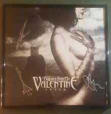 Bullet For My Valentine Rock Band Signed Fever Vinyl LP Record New + FRAME