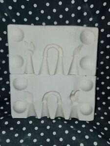 Holland Molds H820 Angel Wings Ceramic Slip Casting Mold