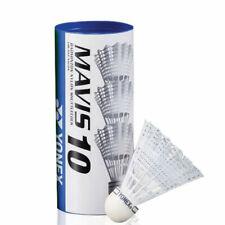 Yonex Mavis 10 Nylon Shuttles - White (Pack of 3)