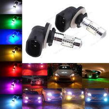 2Pcs  LED Fog Light Plasma Replacement Bulbs 881 886 889 894 896 898 H27W/2