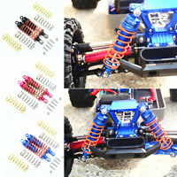 87mm Front Shock Absorbers / Spring Damper Kit For TRAXXAS RUSTLER 4X4 VXL Car