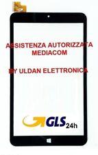 TOUCH SCREEN MEDIACOM M-WPW801 WinPad 8.0 W801 3G VETRO Tablet ORIGINALE