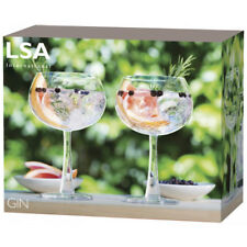 LSA International Gin Balloon Glass - Pack of Two Glasses - BOXED - NEW