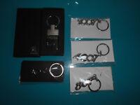 11.01.18.2 Peugeot lot 5 porte clef clés en métal 1007 107 4007 807 hybrid 4