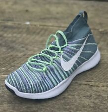 NIKE Mens Free Train Force Flyknit Shoes Sz 11 White Hyper Grape 833275 300 $150