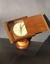 """Antica Bussola Antique Brass Compass """"Forestiere"""" signed Richer à Paris - '800"""
