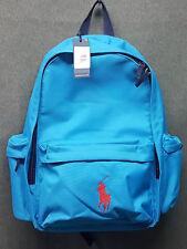 Ralph Lauren Large Big Pony Backpack Blue Agsbeagle