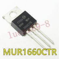10PCS MUR1660CTR TO-220 NEW