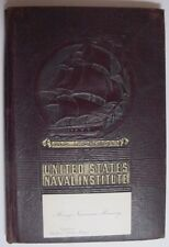 United States Naval Institute-Notebook-Callin g Card-1901-Henry Newman Manney