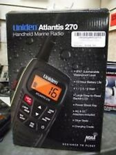 Uniden Atlantis 270 Handheld Floating Two-Way VHF Marine Radio Low $$ Brand New