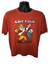 San Francisco 49ers World Champions Shirt Gone Fishin NFL Miami Dolphins A10