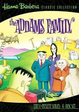 THE ADDAMS FAMILY : COMPLETE SERIES (4 disc set) Region Free DVD - Sealed