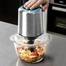 Turbo Titan elektrischer Zerkleinerer Zwiebelschneider Eis Gemüse Obst Edelstahl