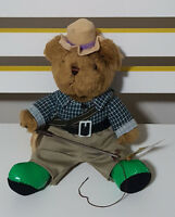 TEDDY BEAR COLLECTION PLUSH TOY ABOUT 20CM SEATED! ANDREW ANGLER SOFT TOY!