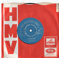 "Ozzie Warlock And The Wizards - Juke Box Fury 7""Single 1959"