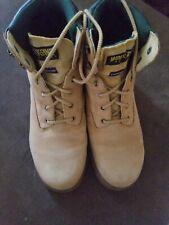 Wolverine Thermolite Men's Lace Up Work Boots Size 8 Eu41 Cheyenne Gold EUC