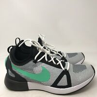 9114 Nike Womens Duel Racer Running Training Shoes Black/White/Dk Grey US 8.5